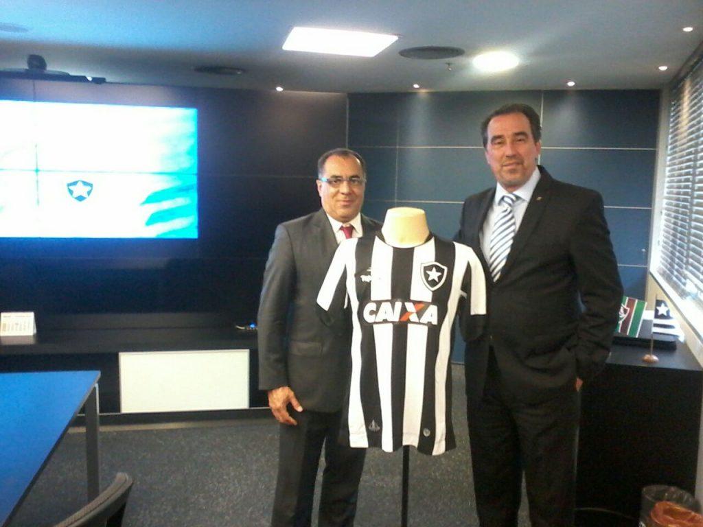 Deputado Celso Jacob participa de assinatura de acordo entre Caixa Econômica e clubes cariocas