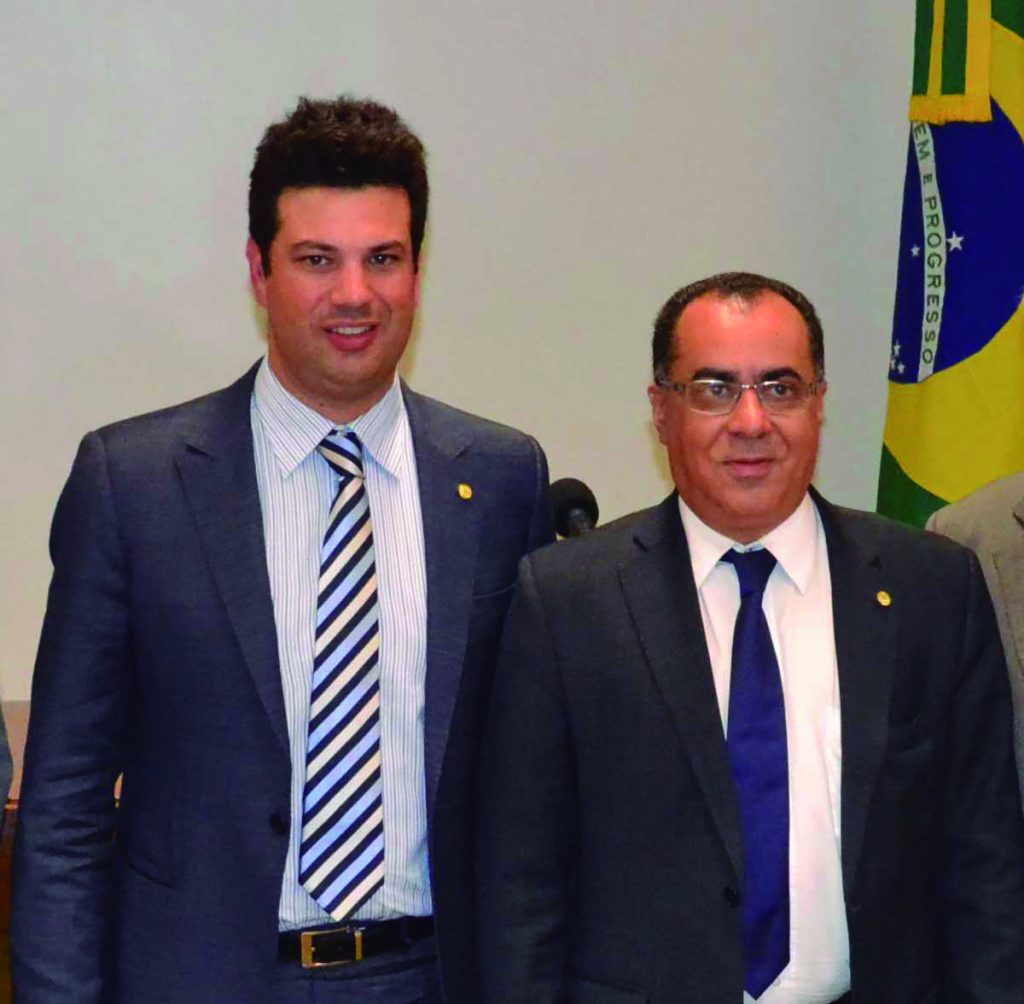 Deputado Celso Jacob participa de audiência com ministro do Esporte