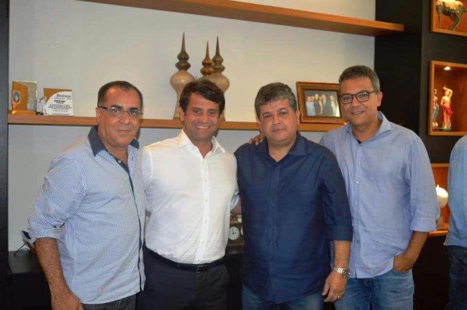 Deputado federal Celso Jacob acompanha visita de secretário de Estado de Saúde aos municípios da região
