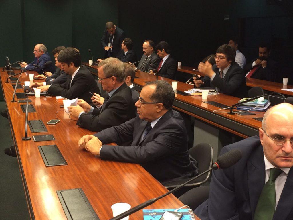 Deputado Celso Jacob participa de reunião com o ministro da Fazenda e o secretário nacional da Previdência