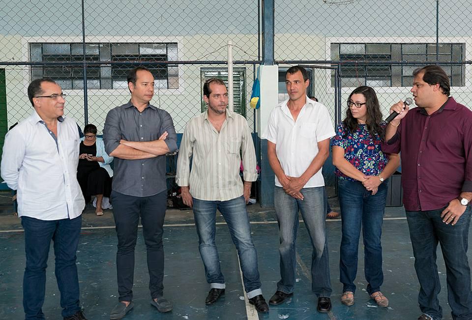Festa de encerramento do Brincando com Esporte em Eng. Paulo de Frontin tem presença do deputado Celso Jacob