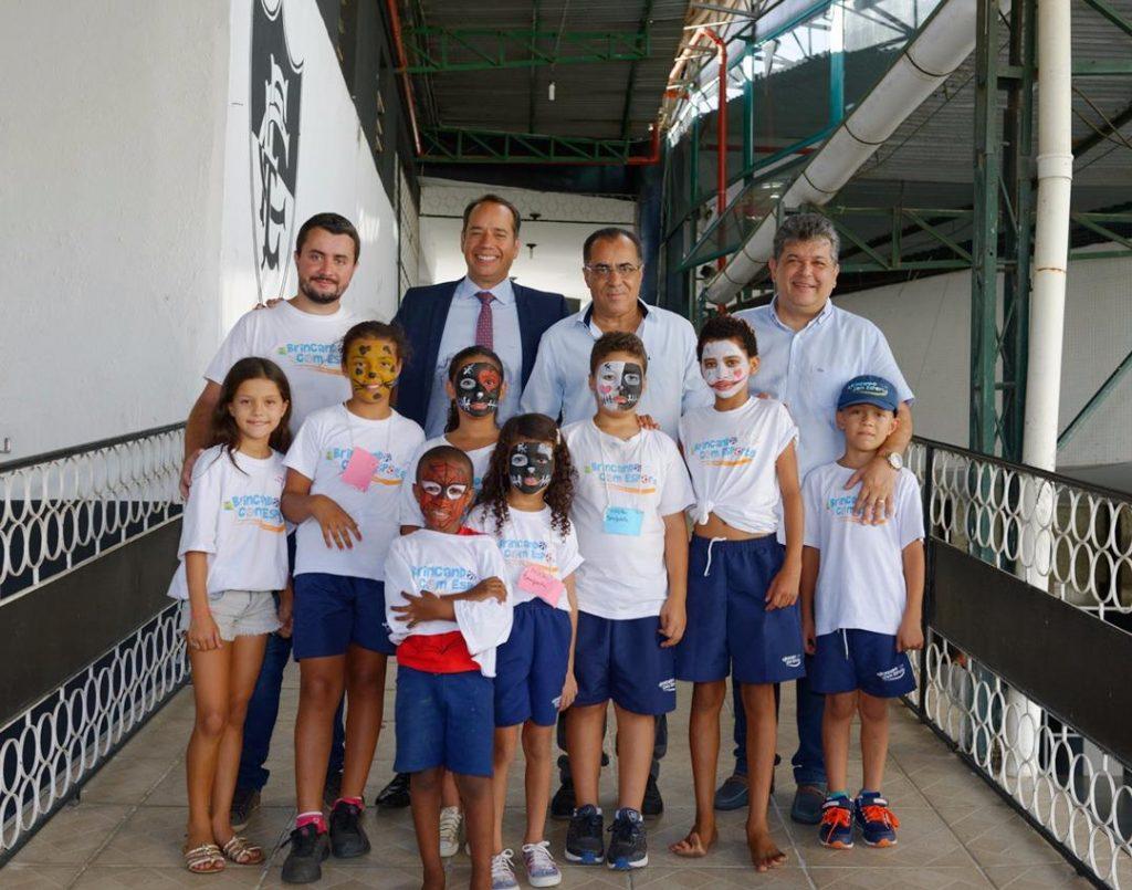 Deputado Celso Jacob e Secretário Nacional visitam núcleos do projeto  Brincando com Esporte
