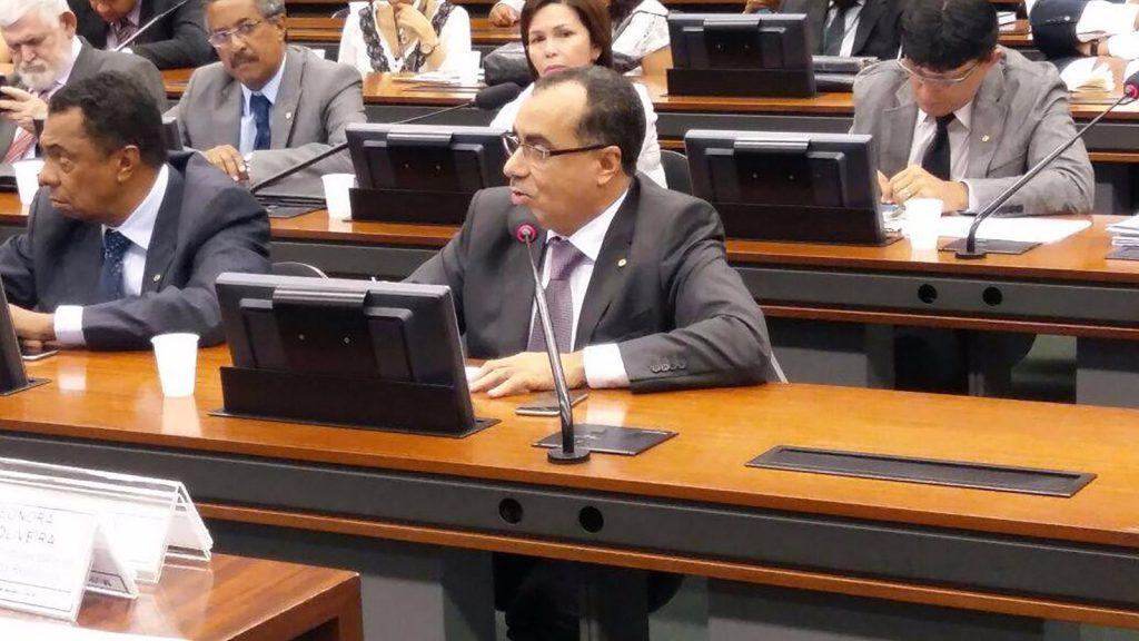 Celso Jacob é membro de comissões permanentes da Câmara dos  Deputados