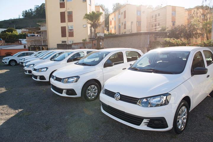 Saúde de Três Rios recebe 8 veículos novos de emenda do deputado Celso Jacob