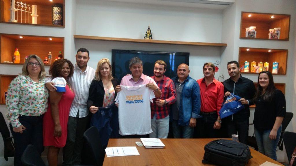 Com o apoio de Celso Jacob, projeto Esporte e Cidadania Para Todos é implantado nas cidades da região