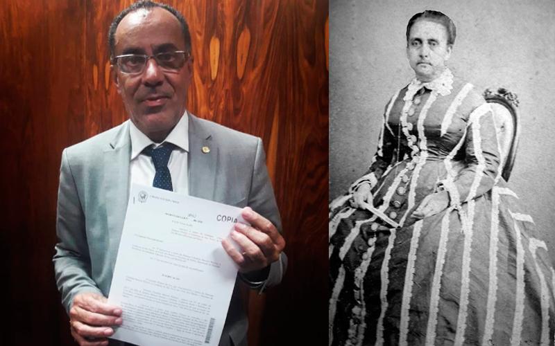 Projeto de lei pretende incluir Condessa do Rio Novo no Livro dos Heróis e Heroínas da Pátria